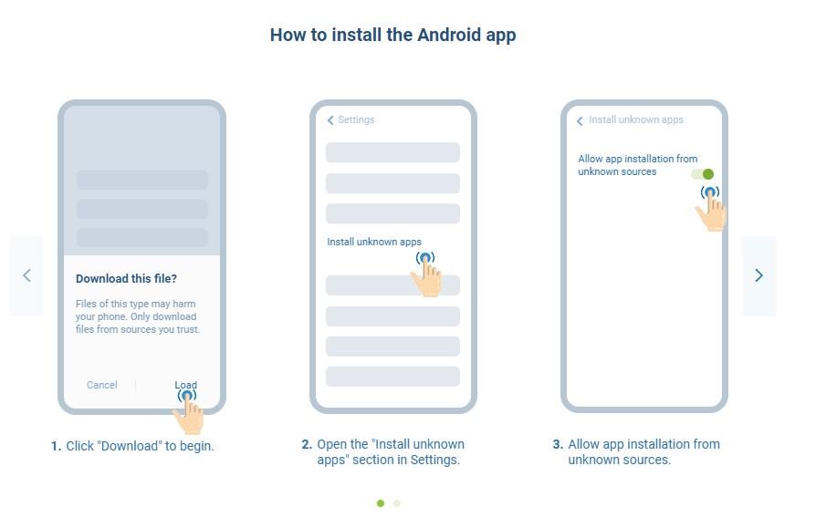Download 1xBet app apk